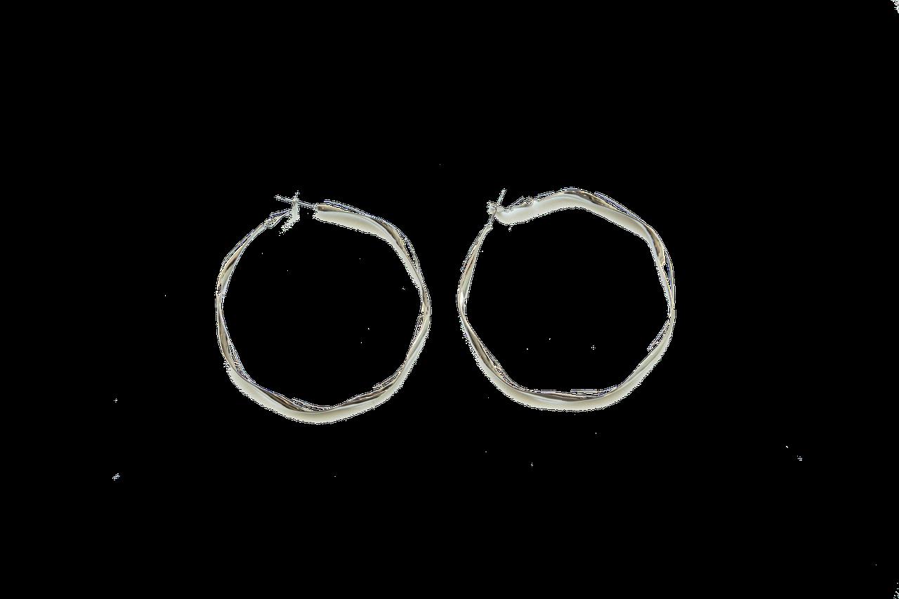 Серьги-кольца Brosh Jewellery (Серебро)