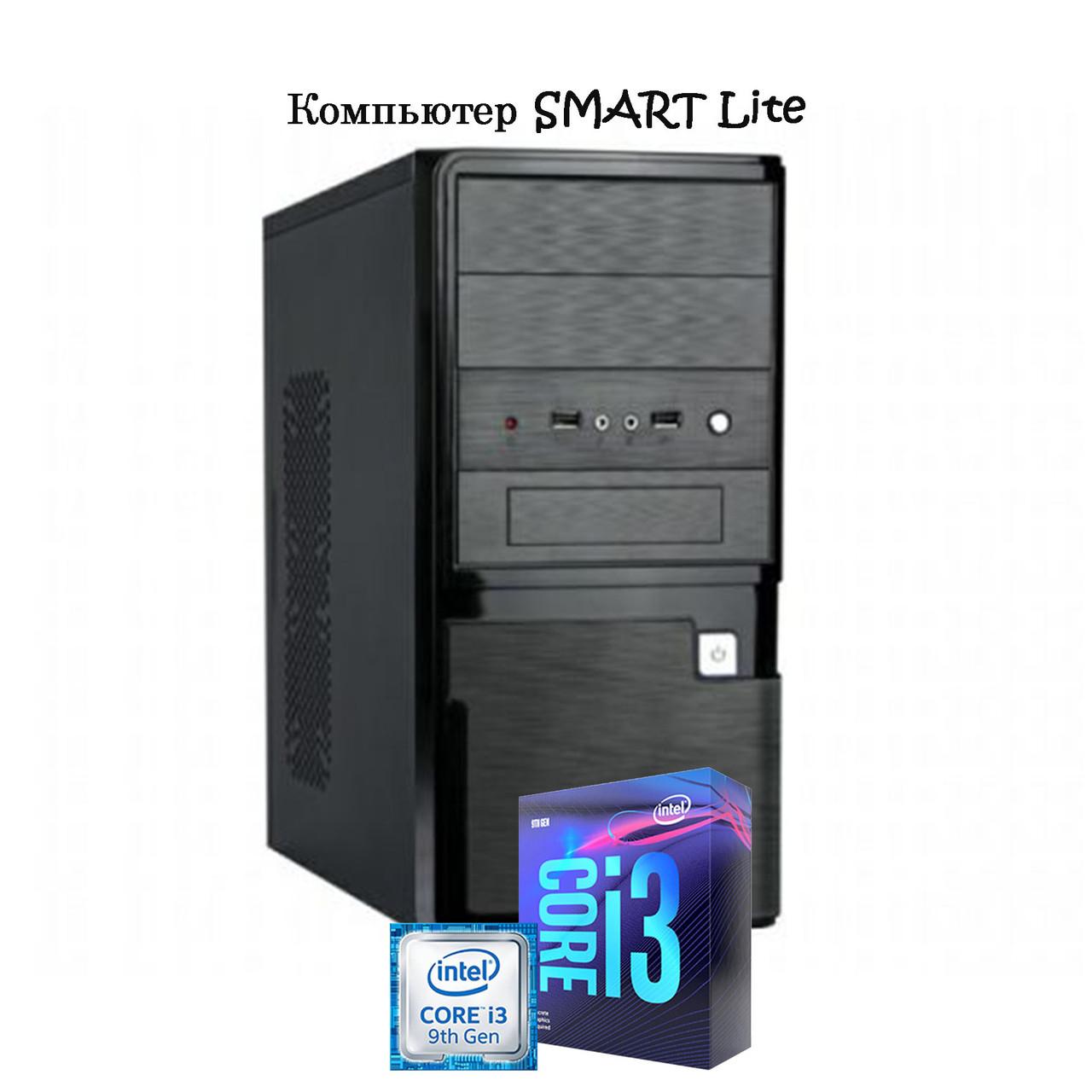 Компьютер Smart, lite intel i3 9100F/H310/DDR4 4GB/ HDD 1TB/GT 210