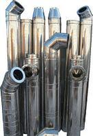 """Сэндвич-труба """"Sferra"""" . 150х230.  (нерж-нерж). 0,8мм. L-1000. Уфа."""