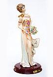 Фарфоровая статуэтка Богиня Фортуна. Ручная работа, Италия, фото 4