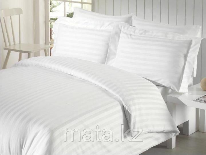 Постельное белье из страйп сатина двухспальное