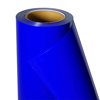 Термо флекс 0,5мх25м PU синий