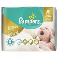 Pampers Подгузники Pampers, Premium Care 0, NB, 30 шт/упак.