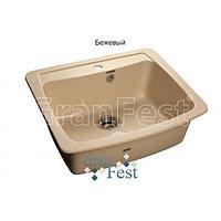 Кухонная мойка GranFest Standart GF-S605, фото 1