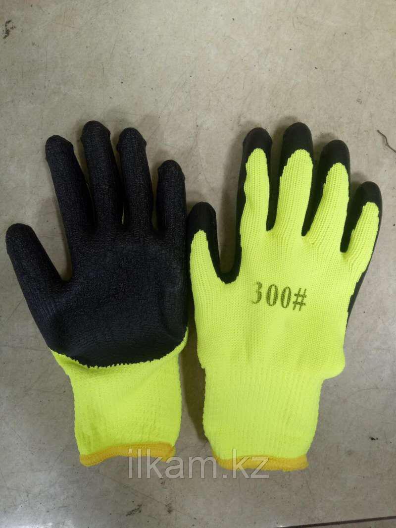 Перчатки 300# желтые