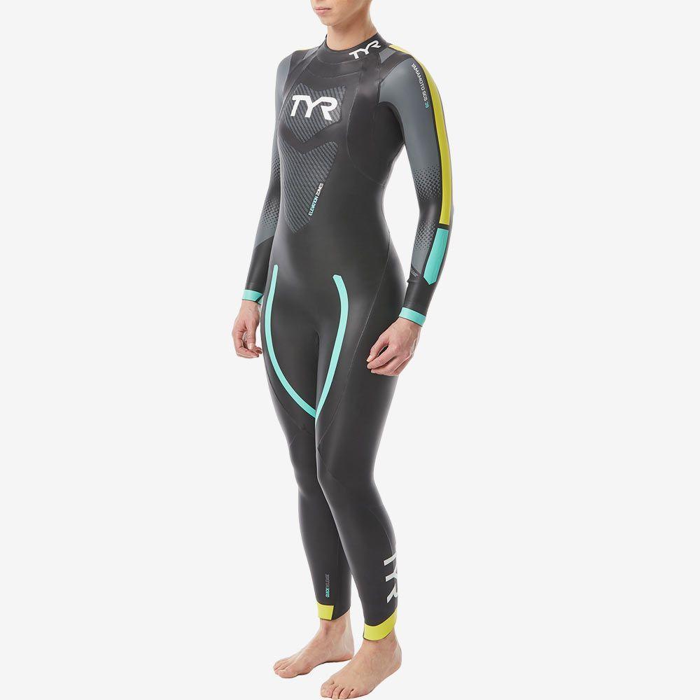 Гидрокостюм TYR Wetsuit Female Hurricane Cat 2