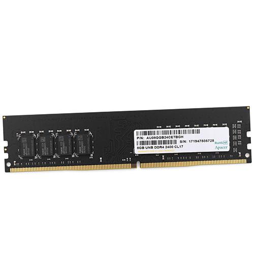 Модуль памяти Apacer, EL.08G2T.KFH, DDR4, 8 GB DIMM <PC4-19200/2400MHz> CL17