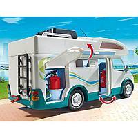 Конструктор Playmobil Аквапарк: Семейный автомобиль - дом на колесах 6671pm