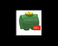 Емкость горизонтальная-цилиндрическая  200л (750х675х650) 40-282