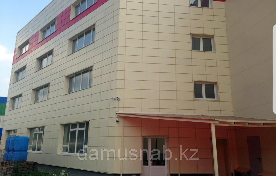 Монтаж алкана(лист алюминия). на фасады зданий, входные группы, параппеты, откосы,отливы. Покраска.