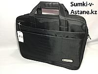 Мужской деловой портфель из ткани.Высота 30 см,ширина 40 см, глубина 10 см., фото 1