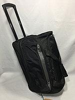 Средняя дорожная сумка на колесах Cantlor. Высота 36 см, ширина 58 см, глубина 30 см.