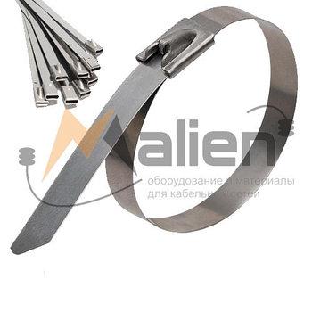 Стяжка стальная СТС 4.6x150 мм (AISI 304), МАЛИЕН арт. 870234