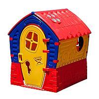 Детский домик Palplay Лилипут желтый
