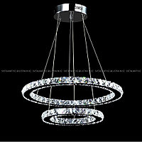 Хрустальная люстра потолочная подвесная LED, фото 1