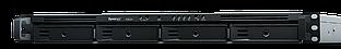 Synology RS820 + 4xHDD 1U NAS-сервер «All-in-1» (до 8-и HDD модуль RX418)