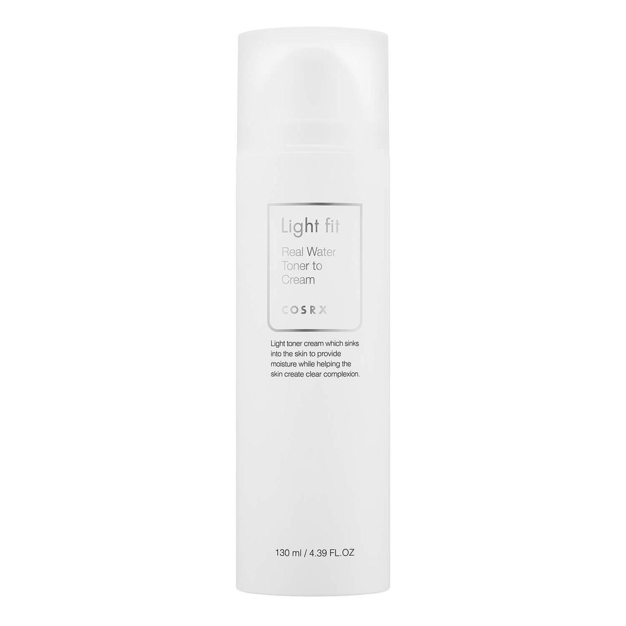 Тонер-крем COSRX Light Fit Real Water Toner to Cream