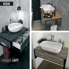 Мебель для ванной комнаты в стиле Loft