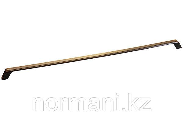 Ручка-скоба 480мм, отделка бронза античная французская