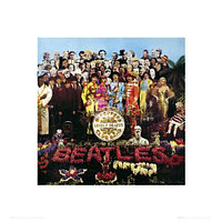 Фотопринт THE BEATLES MUSIC JOHN LENNON U.S.A — THE BEATLES, 40х40, SС0005