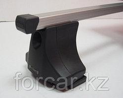 Багажник Atlant для гладкой крыши с креплением за дверной проем, прямоугольные дуги, опора B