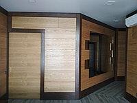 Стеновые панели из шпона дуба