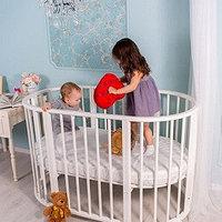 Как выбрать детскую овальную кроватку