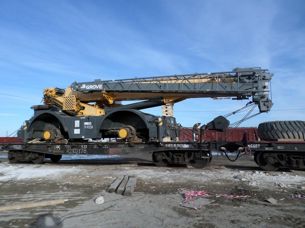 Крепление грузов на всех видах жд вагонах и транспортерах