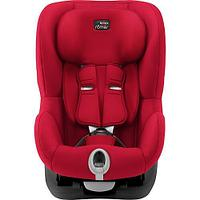 Автокресло Britax Römer King II Black Series Fire Red Trendline, фото 1