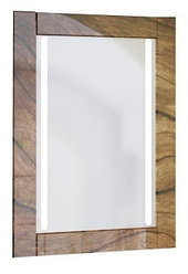 Зеркало Glass (Древесный) с подсветкой.