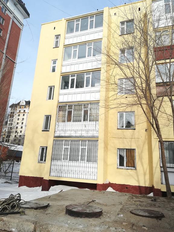 Демонтаж и монтаж аварийных балконов, ремонт фасада, ремонт кровли на доме по адресу пр Республики 7/1.
