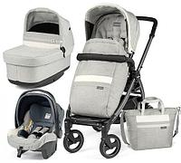 Коляска 3в1 Peg-Perego Book 51S Titania Pop Up Modular Lux Pure