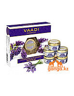 Набор по уходу за кожей с лавандой (Lavender anti-ageing spa Facial Kit VAADI Herbals), 270 гр