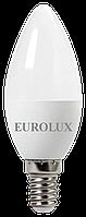Лампа светодиодная LL-E-C37-5W-230-4K-E14  Eurolux