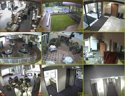 Установка видеонаблюдения в гостинице, отеле