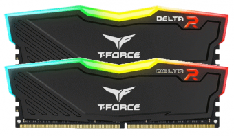 Оперативная память Team Group T-Force DELTA RGB/ DDR4/ 32 GB/ 16 GB x 2/ 3200 MHz/ RGB