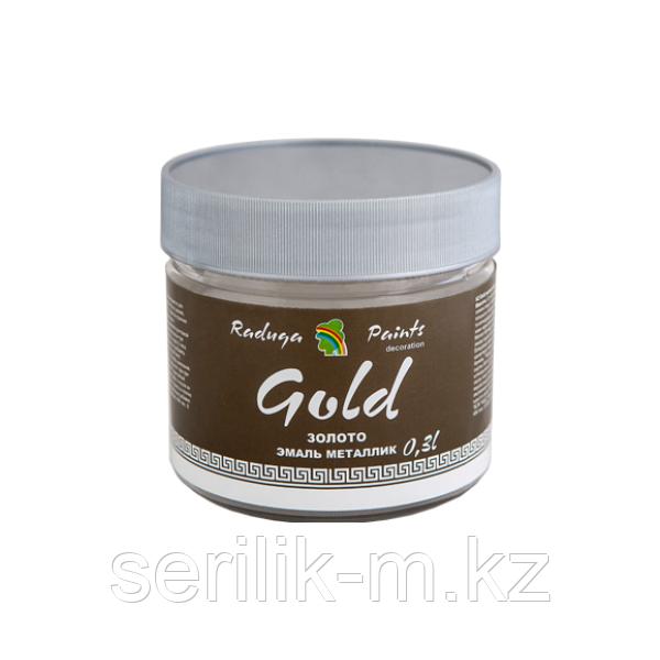 Эмаль  декоративная акриловая лессирующая 0.3л  Радуга Gold
