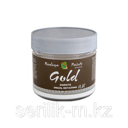 Эмаль  декоративная акриловая лессирующая 0.3л  Радуга Gold, фото 2