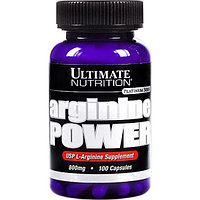 Ultimate Nutrition Arginine Power 800 mg (100 капсул)