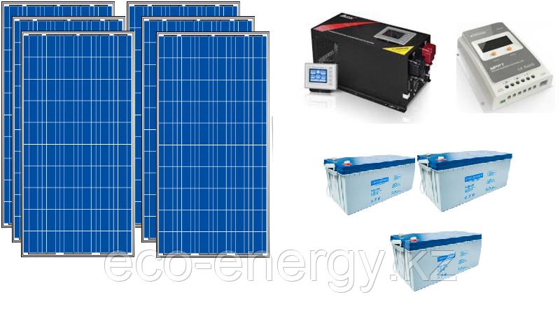 Автономная солнечная электростанция 2 кВт/ч ПО СУБСИДИИ для фермеров