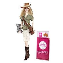 "Barbie Коллекционная кукла Барби ""Куклы Мира"", Австралия"