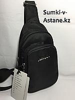 Мужская нагрудная сумка через плечо.Высота 25 см, ширина 13 см, глубина 5 см., фото 1