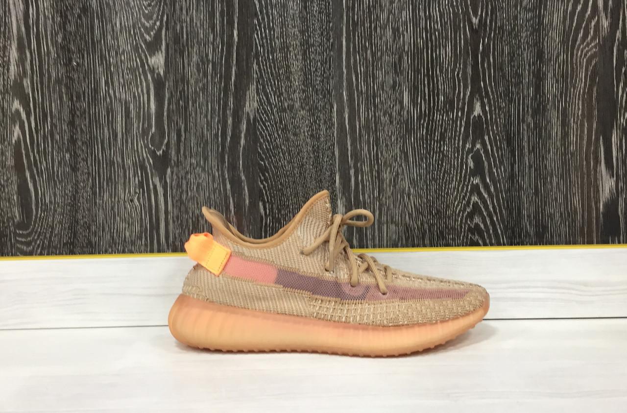 Кроссовки Adidas Yeezy Boost 350 V2 Clay (43 размер)