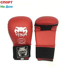 Накладки на руки для каратэ Venum Размер S (красный)