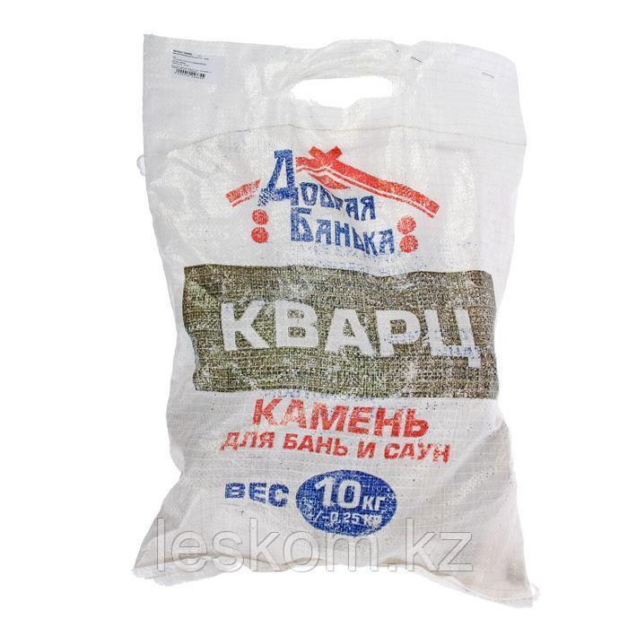 Кварц, камень колотый, мешок 10кг