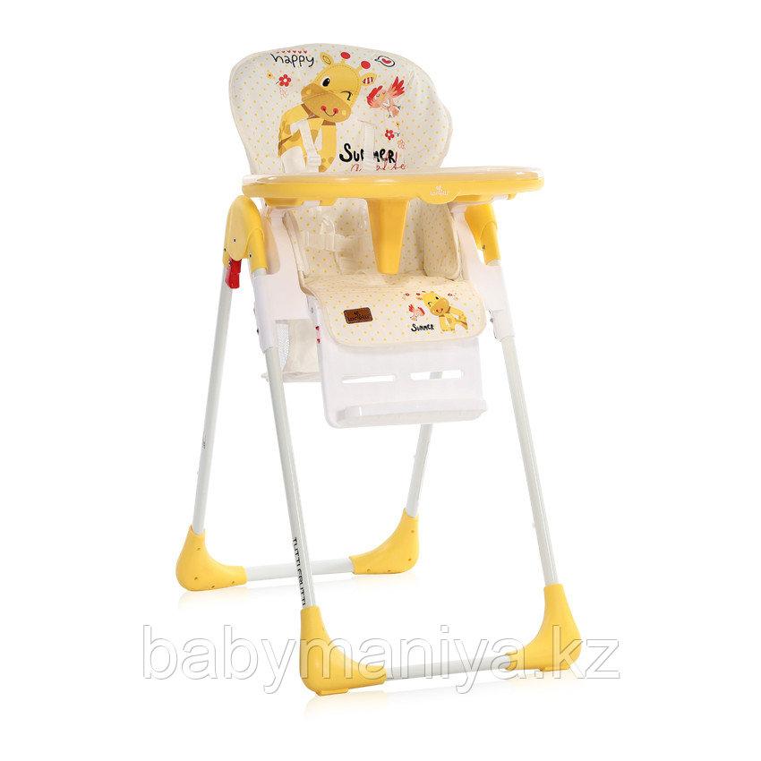 Стульчик для кормления Lorelli TUTTI FRUTTI Желтый / Yellow GIRAFFE 2035