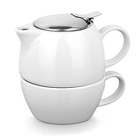 Керамический чайный набор 2 в 1