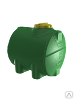 Пластиковая емкость для воды или технических жидкостей на 300 л