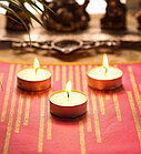 Свечки для ванны 50 шт. Романтический вечер, фото 2