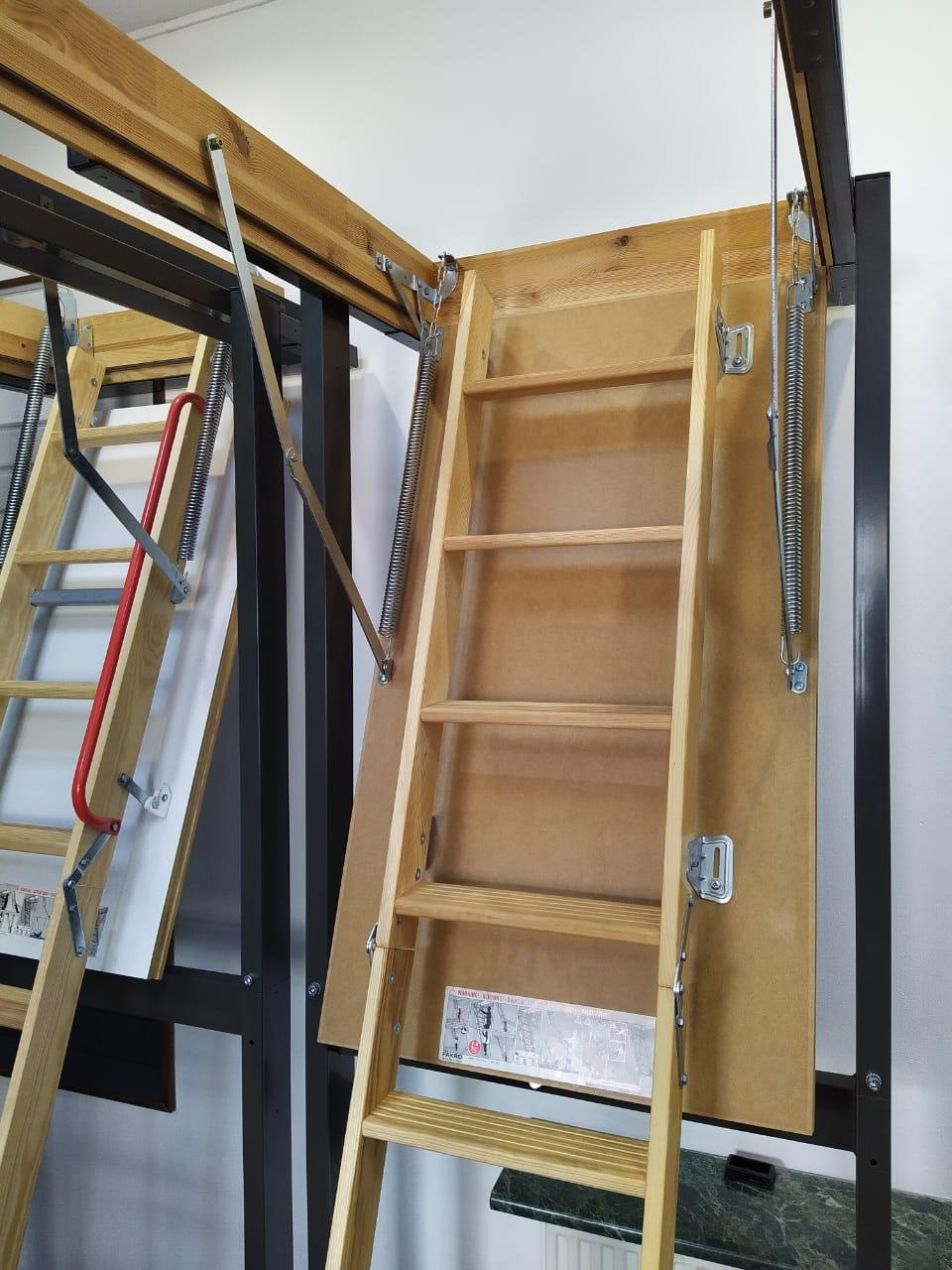 Чердачная лестница 60x120x280  LWS Smart FAKRO